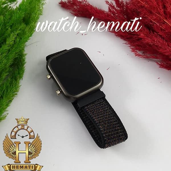 خرید ارزان ساعت ال ای دی اسپرت led1100 در رنگ بند مشکی