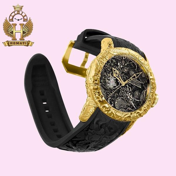 عکس ساعت عقربه ای مردانه اینویکتا یاکوزا 25083 Invicta Yacuza صفحه-مشکی