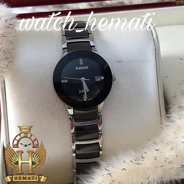 خرید ارزان ساعت زنانه رادو دیا استار جوبیل Rado Diastar Jubile RDL104 نقره ای مشکی