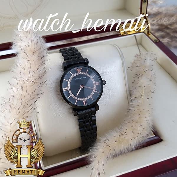 خرید ارزان ساعت زنانه امپریو آرمانی AR110 مشکی