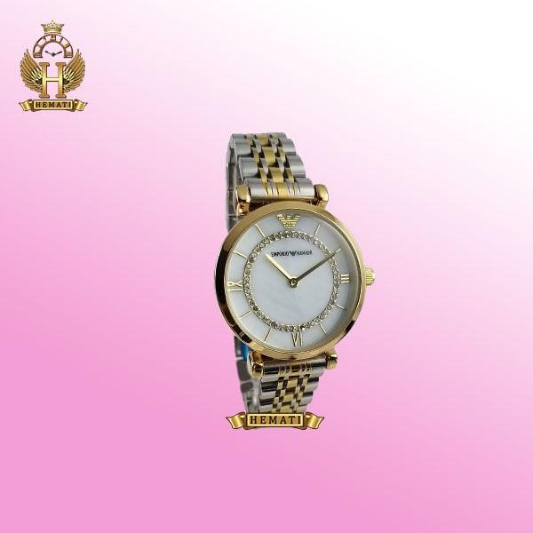 ساعت زنانه امپریو آرمانی AR111 نقره ای-طلایی