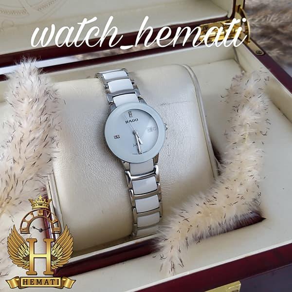 خرید ارزان ساعت زنانه رادو دیا استار جوبیل Rado Diastar Jubile RDL103 نقره ای سفید