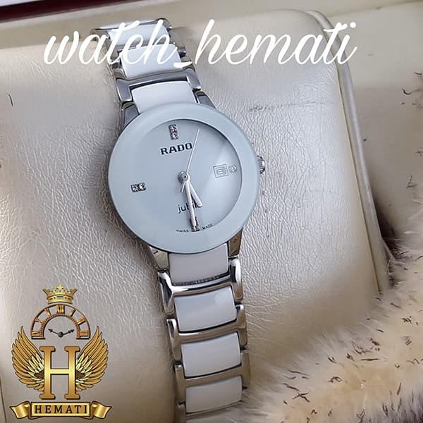 خرید اینترنتی ساعت زنانه رادو دیا استار جوبیل Rado Diastar Jubile RDL103 نقره ای سفید