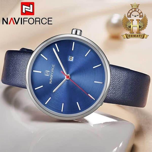 نمایندگی ساعت مچی زنانه نیوی فورس Naviforce NF5002L سرمه ای