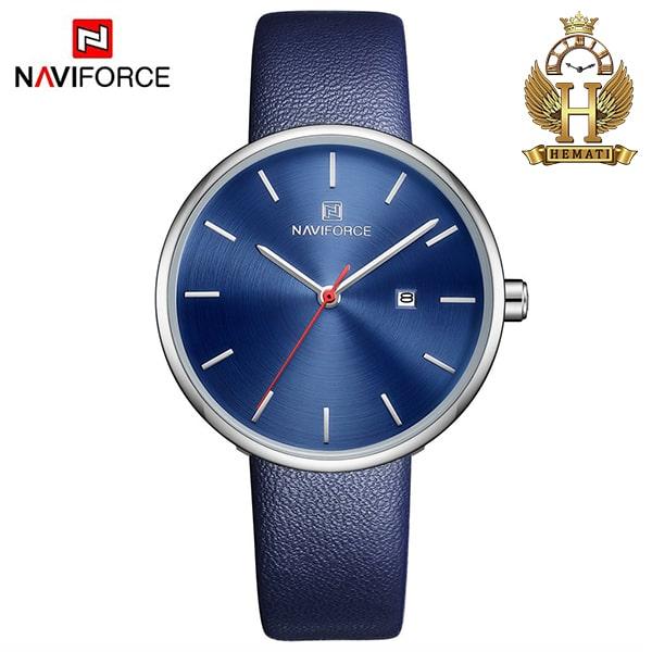 خرید ساعت مچی زنانه نیوی فورس Naviforce NF5002L سرمه ای