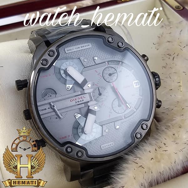خرید اینترنتی ساعت مردانه دیزل هفت موتوره مدل DIESEL dz-7423