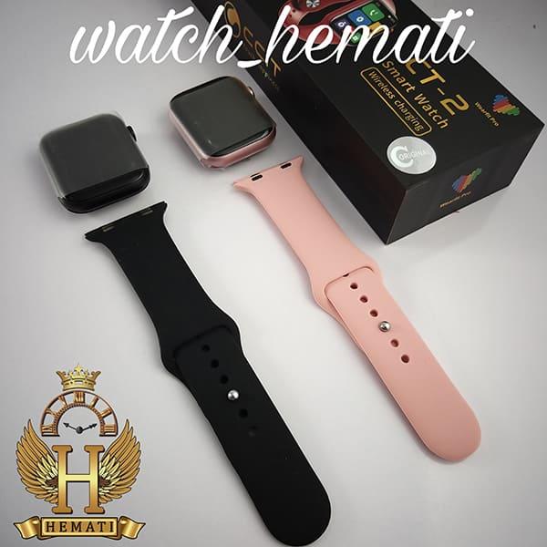 خرید ارزان ساعت هوشمند مدل SMART WATCH CT2 2021 در رنگبندی مشکی و رزگلد