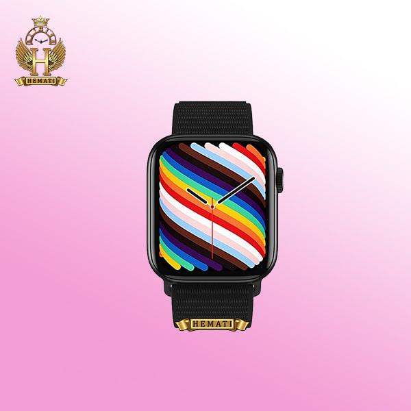 خرید اینترنتی ساعت هوشمند مدل Smart Watch HW18 2021 در رنگبندی مشکی و رزگلد