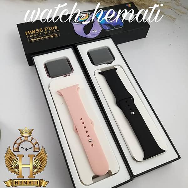 خرید ارزان ساعت هوشمند مدل Smart Watch HW56 PLUS به رنگ مشکی و رزگلد