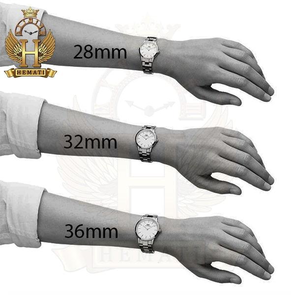 خرید آنلاین ساعت زنانه دنیل ولینگتون Daniel Wellington DWL22 قاب و بند نقره ای با صفحه مشکی