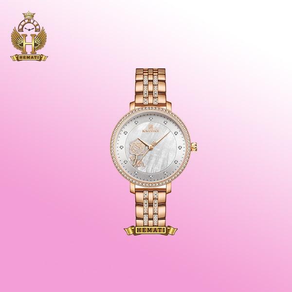 ساعت مچی زنانه نیوی فورس Naviforce NF5017L در رنگبندی رزگلد ، نقره ای ، طلایی
