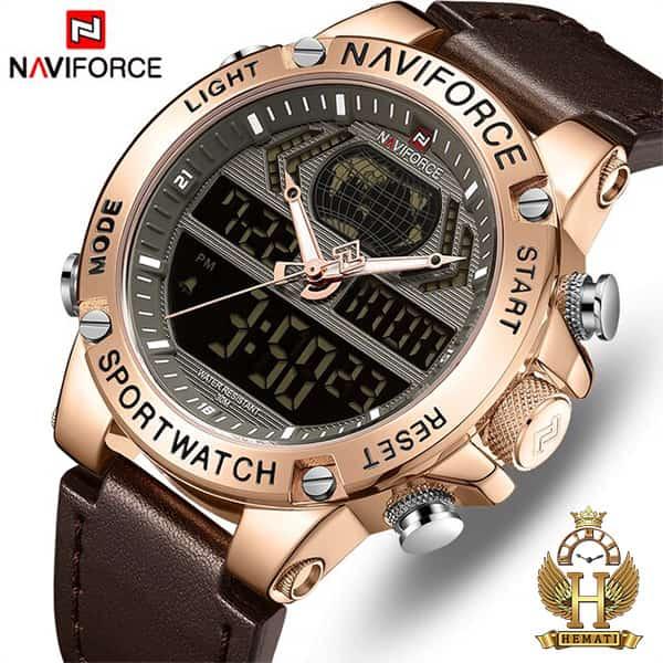 فروش ویژه ساعت مچی مردانه نیوی فورس Naviforce NF9164M