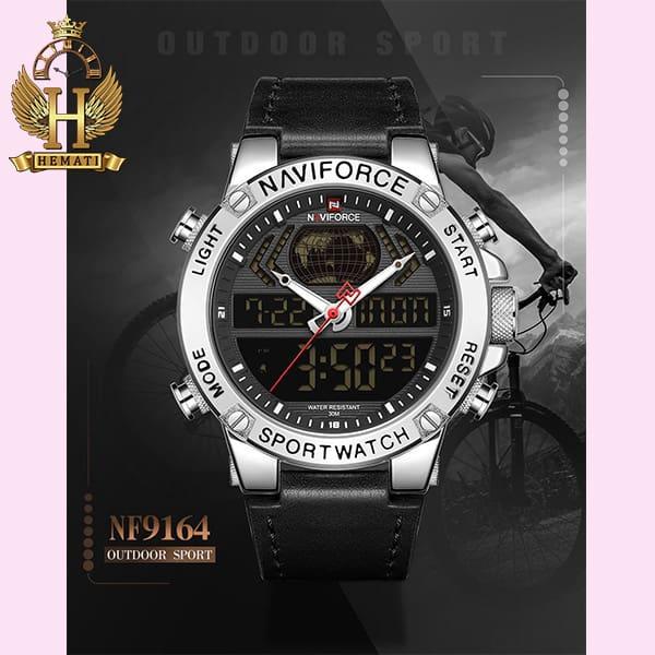 خرید اینترنتی ساعت مچی مردانه نیوی فورس Naviforce NF9164M
