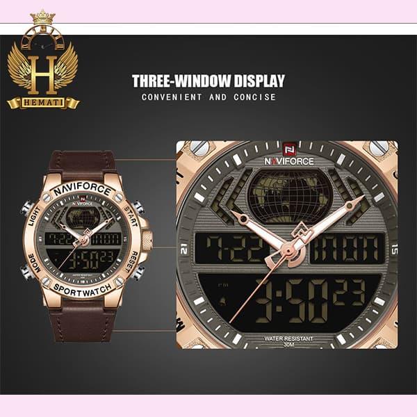 خرید انلاین ساعت مچی مردانه نیوی فورس Naviforce NF9164M