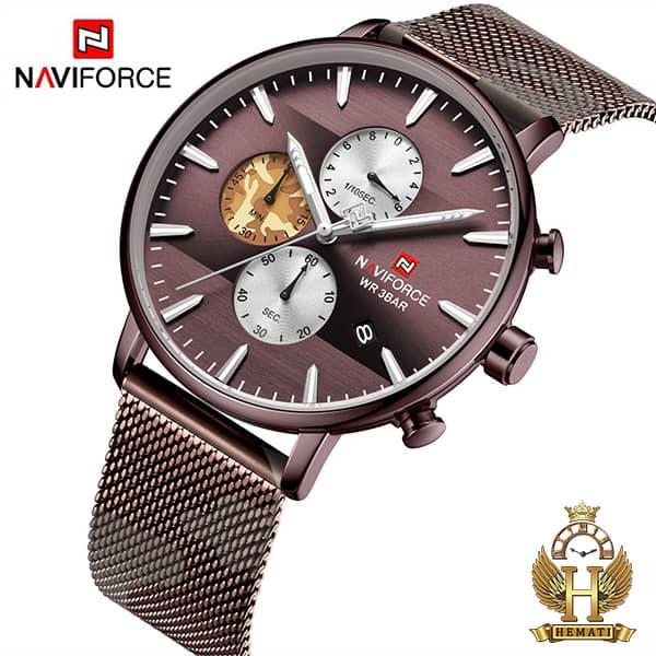 ساعت مردانه نیوی فورس Naviforce NF9169M کافی
