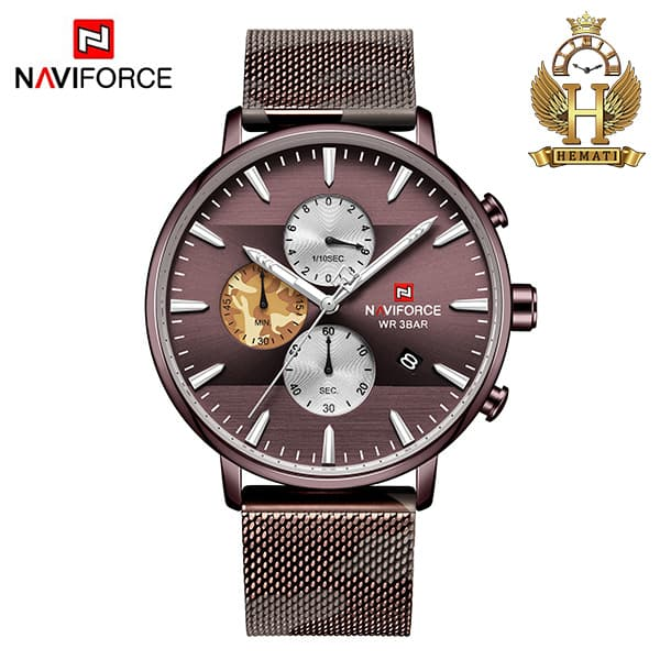 قیمت ساعت مردانه نیوی فورس Naviforce NF9169M کافی