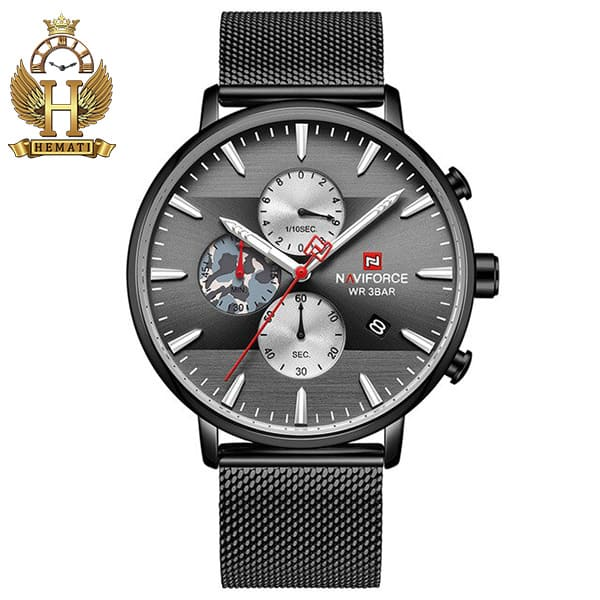 مشخصات ساعت مردانه نیوی فورس Naviforce NF9169M مشکی